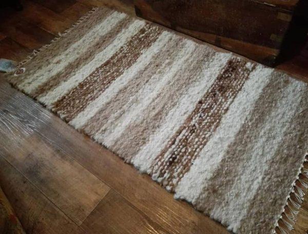 Caramel Latté Alpaca Floor Rug
