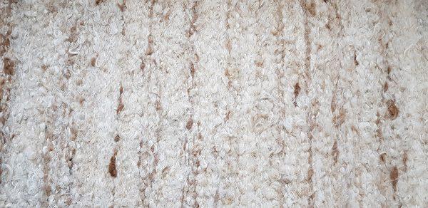 Caramel Ripple Alpaca Rug